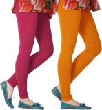 Blu Roller Women's Pink, Orange Leggings...