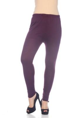 Desi Fusion Women's Purple Leggings