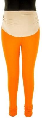 Prmesabh Women's Orange Leggings