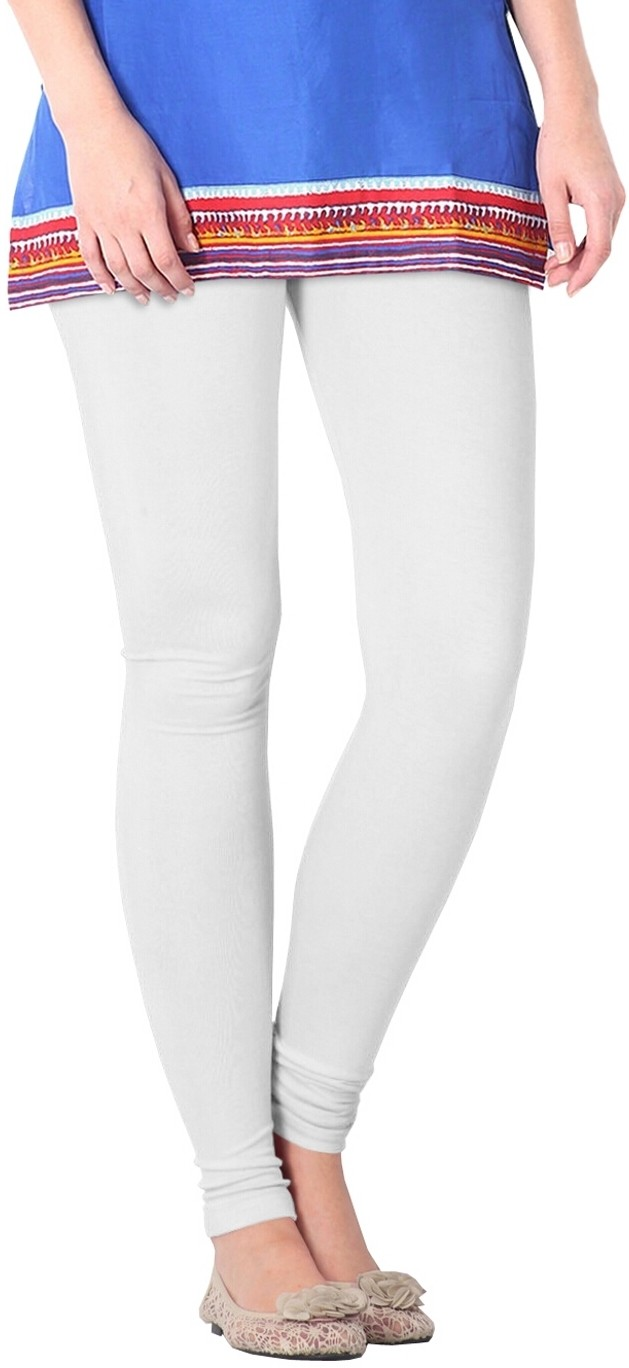 Nice Fit Womens White Leggings
