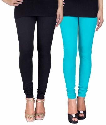 Ayesha Fashion Women's Black, Blue Leggings