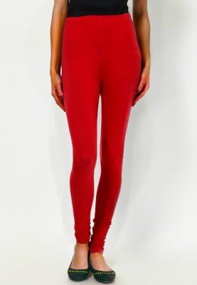 Madaam Women's Red Leggings