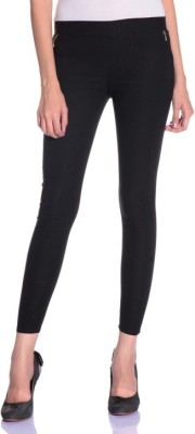 Dimpy Garments Women,s Black Jeggings