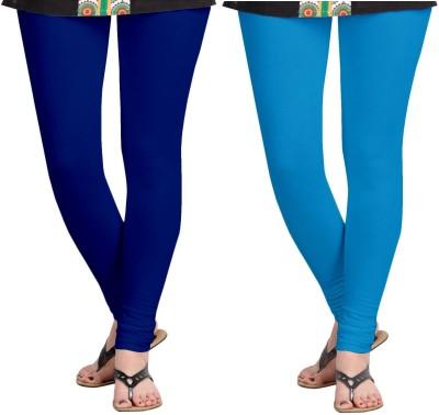 ZACHARIAS Women's Blue, Light Blue Leggings