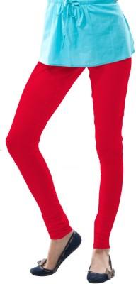 Dollar Missy Women's Red Leggings