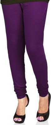 SareesHut Women's Purple Leggings