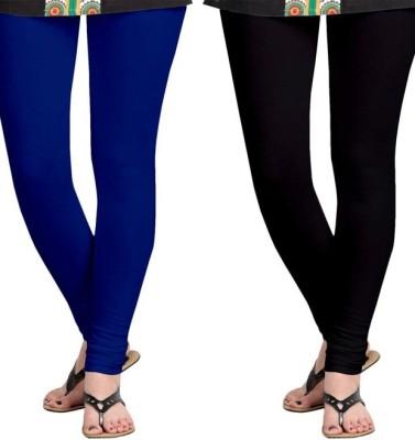 Roshni Creations Women's Blue, Black Leggings