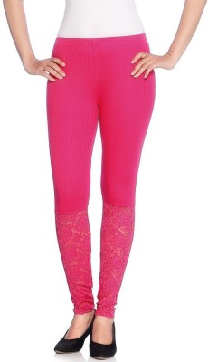 Vanita Women's Pink Leggings