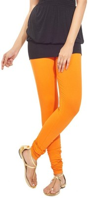 NEW TRENDS Women's Orange Leggings