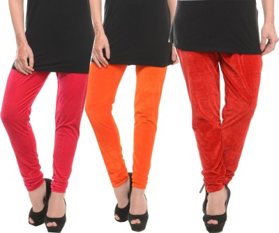 Stay Blessed Women's Orange, Pink, Red Leggings