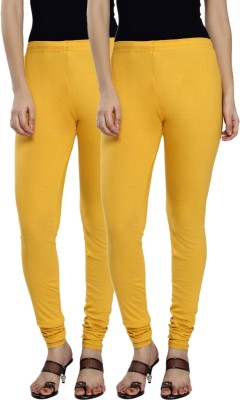 Fexy Women's Yellow, Yellow Leggings