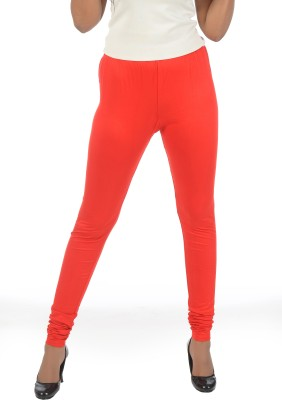 Crezyonline Women's Red Leggings