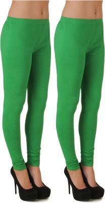 Stylishbae Women's Light Green, Light Green Leggings