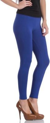 Vita Elegante Women's Dark Blue Leggings