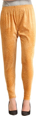Gudluk Women's Beige Leggings