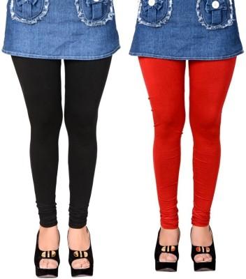 LGC Women's Black, Red Leggings