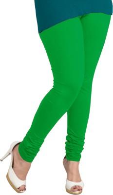 I-Diva Women's Green Leggings