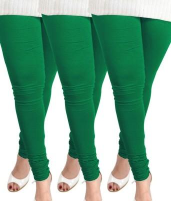 divine creations Women's Green Leggings