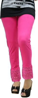 Fashion Kala Women's Pink Leggings