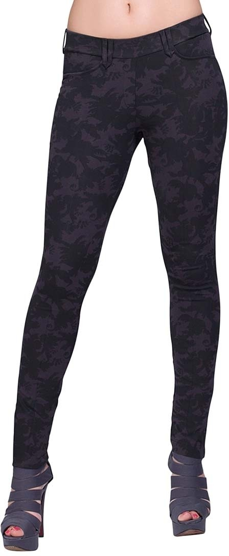 Voustyle Womens Black, Grey Jeggings