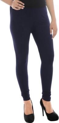 Paulzi Women's Beige, Blue Leggings