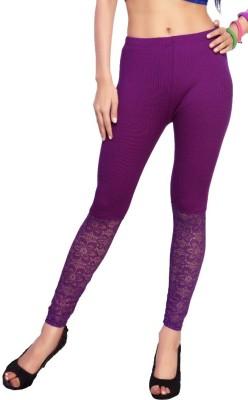 Comix Women's Purple Leggings