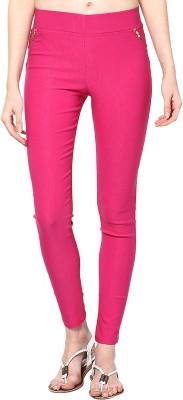 Saiarisha Women's Pink Jeggings