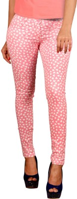 Vogue4all Women's Pink Jeggings