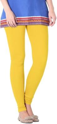 Nice Fit Women's Yellow Leggings