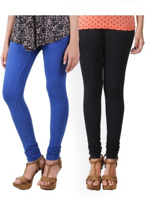 HiFi Women's Blue, Black Leggings