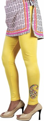 Ankita Women's Yellow Leggings