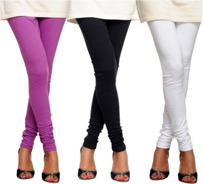 Angel Soft Women,s Purple, Black, White Leggings