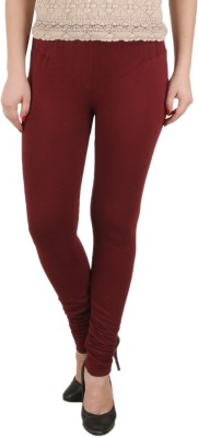 c/cotton comfort Women's Maroon Leggings