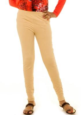 Menthol Girl's Beige Leggings