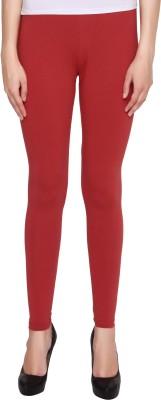 Valentine Women's Maroon Leggings