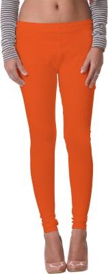 Delizia Women's Orange Leggings