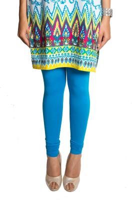 Red Saffron Women's Blue Leggings