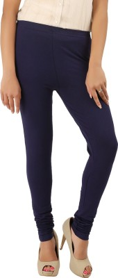 CURVIVA Women's Dark Blue Leggings