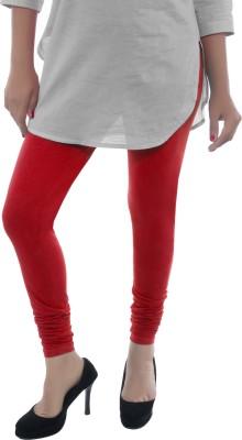 Feminine Women's Red Leggings