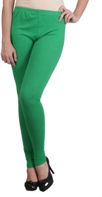 Ahhaaaa Women's Green Leggings