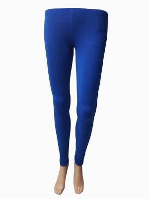 StyleFunia Women's Blue Leggings