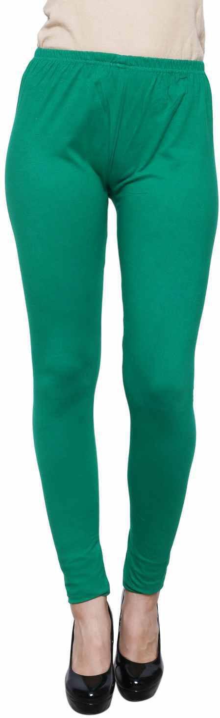 Leebonee Womens Green Leggings