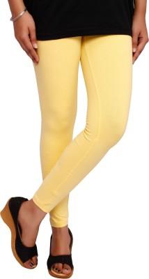 Fine Colors Women's Yellow Leggings