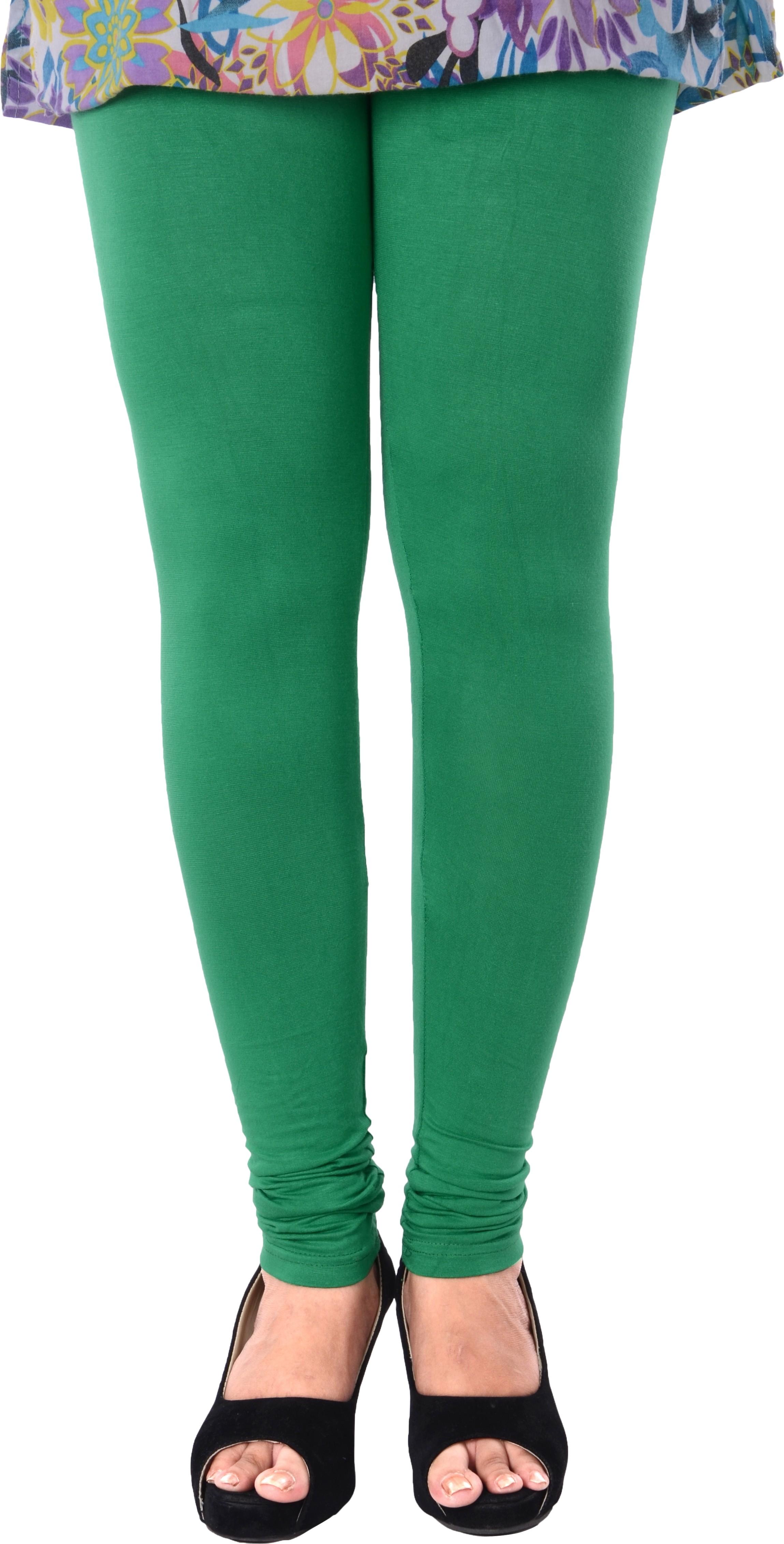 Grafion Womens Green Leggings