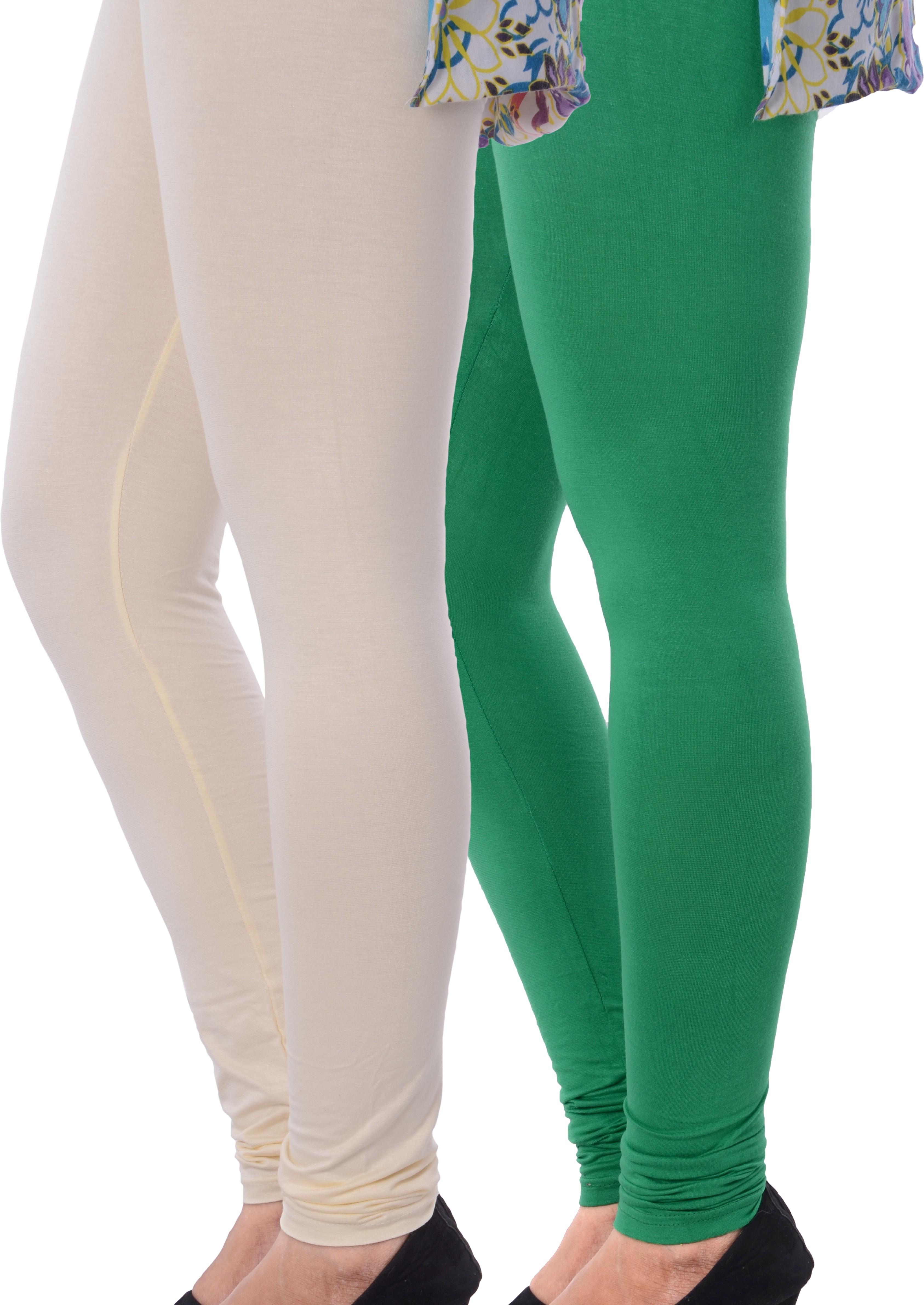 Grafion Womens Multicolor Leggings(Pack of 2)