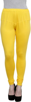 Pistaa Women's Yellow Leggings