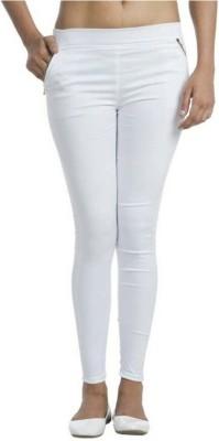 Universal Mart Women's White Jeggings