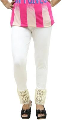 Fashion Kala Women's White Leggings