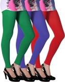 Slassy Women's Multicolor Leggings (Pack...