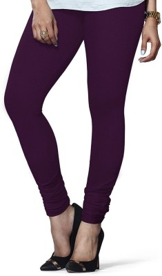 vivancreation Girl's Purple Leggings